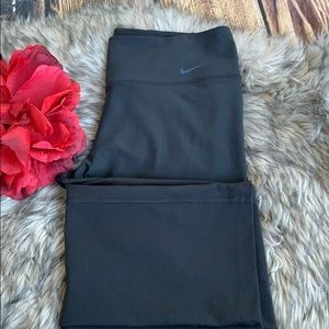 Nike Black Dri Fit Running Pants Leggings sz L